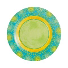 Plate 25 cm Propriano Turquoise