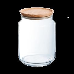 Pot 200 cl Pure Jar Wood