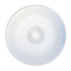 Assiette plate en verre 27 cm Louison