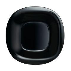 Black plate 28,8 x 27 cm Carine